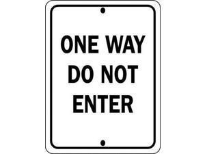"Traffic Sign, Brady, 94199, 24""Hx18""W"