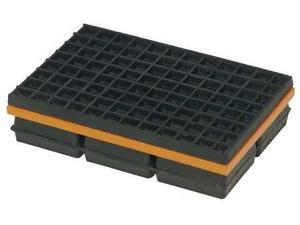 MASON 2LVP1 Vibration Isolation Pad, 4x4x1 1/4 In