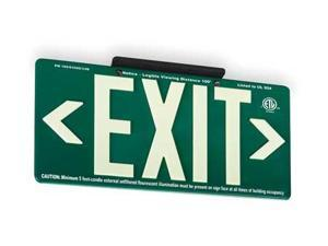 "Exit Sign, Value Brand, 3EYL5, 8-5/8""Hx15-7/8""W"