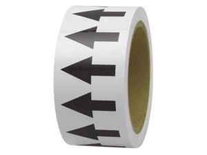 INCOM MANUFACTURING PMA159 Arrow Tape, Black/White, 1 In. W