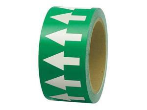 "White/Green Arrow Tape, Incom Manufacturing, PMA4524""W"