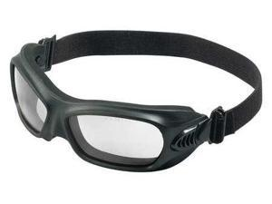 JACKSON SAFETY 20525 Protective Goggles,Black,Polycarbonate