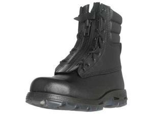 Size 14 Work Boots, Unisex, Black, Steel Toe, EE, Redback Boots