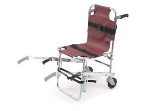 FERNO 40 Stair Chair, 350 lb. Cap., Burgundy