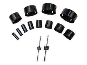 SPYDER 600806 Hole Saw Kit, 14Pc, 1-3/4In