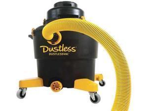 DUSTLESS TECHNOLOGIES--LOVE LESS ASH CO D1603 Wet/Dry Vacuum,5 HP,126 cfm,120V