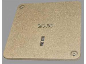 QUAZITE PC1212CA0024 Encl Cover, Ground, 12 13/16x12 13/16, Tr8