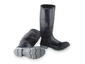 ONGUARD 861020933 Knee Boots, Men, 9, Steel Toe, Blk/Gry, 1PR