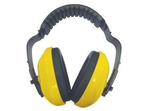CONDOR 26X628 Ear Muffs, Dielectric, Yellow, 19dB