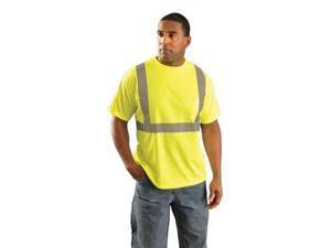 "31"" T-Shirt, Yellow ,Occunomix, LUX-SSETP2B-Y3X"