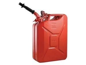 WAVIAN 2238C Gas Can,5 gal.,Red,Include Spout
