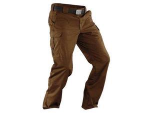 5.11 TACTICAL 74369 Stryke Pant, Size 36, Battle Brown G7764066