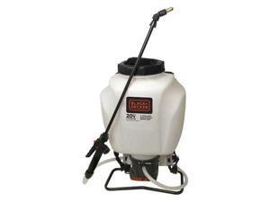 BLACK & DECKER 63980 Backpack Sprayer, 30 psi, 4 gal.