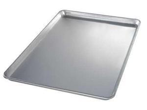 CHICAGO METALLIC 40800 Sheet Pan, Aluminum, 18 Gauge, 18x26