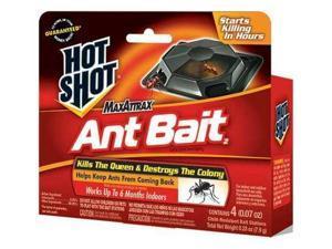 HOT SHOT HG-2040W Ant Killer, 0.07 oz., Blocks, PK4