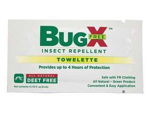 PHYSICIANSCARE 12844 Insect Repelent, No DEET, Lotion Wipe, PK50