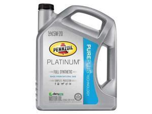 PENNZOIL 550038332 Motor Oil, 5 qt., 5W-20, Full Synthetic