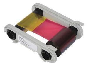EVOLIS R5F008AAA ID Card Printer Ribbon, 5 Panel, 300 DPI