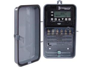 Gray Electronic Timer, ET8215CR, Intermatic