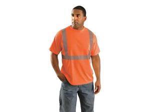 "30"" T-Shirt, Orange ,Occunomix, LUX-SSETP2B-OXL"