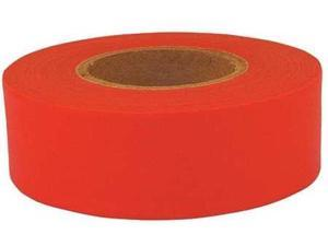 CH HANSON 17010 Flagging Tape,Fluorescent Red,1-3/16in.W G0079801