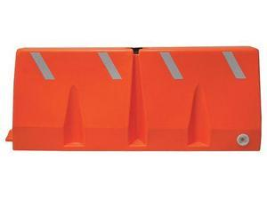 Orange Polycade Traffic Barrier, TB-5-10, Dpi