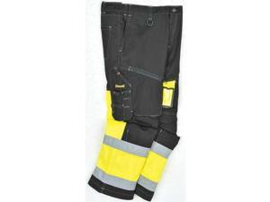 OCCUNOMIX SP-CJN-BY40 Hi-Vis Work Pants, Class E, Ylw, 40x32-1/2