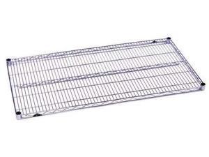 METRO 1848BR Wire Shelf,18x48 in.,Zinc Plated,PK4