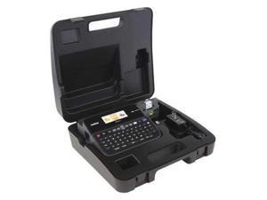 BROTHER PT D600VP Label Maker, Black, Carry Case