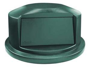 RUBBERMAID 1834838 Trash Can Top, Dark Green, 24-13/16 in. L