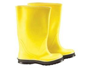 ONGUARD 88060 11 00 Overboots,11,PVC,Cleated,17inH,Yellow,PR
