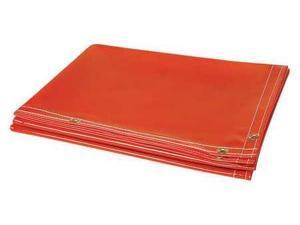 STEINER 338-8X10 Welding Curtain,10 ft. W x 8 ft.H,Orange G0183578