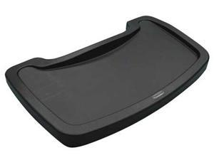 RUBBERMAID FG781588BLA Youth Seating Tray, Black