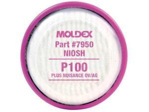 MOLDEX 7950 Filter Disk, Magenta, P100, Bayonet, PR