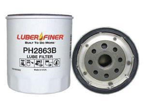 Luberfiner Ph2863b Oil Filter,4-1/5 In H X 3-13/16 In Dia. G9781737
