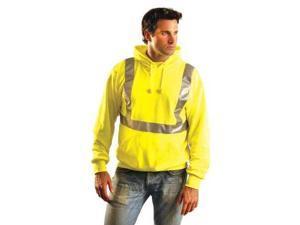 OCCUNOMIX LUXSWTLHYL Sweatshirt, Mens, L, Yellow