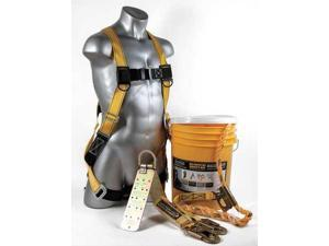GUARDIAN 00805 Fall Protection Kit, 25 ft. Lifeline