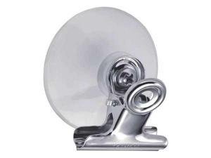 3ZVJ6 Suction Cup with Clip, Plastic, PK 3