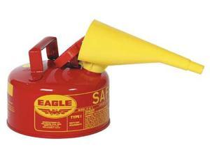 "EAGLE UI10FS Type I Safety Can,1 gal.,Red,10"" H,9"" OD"
