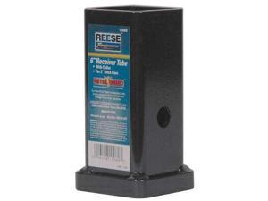 REESE 11080 Receiver Tube, 6 In