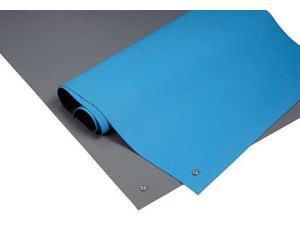 3M 6811 Dissipative Table Mat, Blue, 2 x 4 ft.