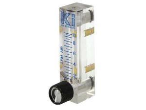 BROOKS 2510A2L20SVVT Flowmeter,Water,1 to 10 GPH,Viton Seal G4595367