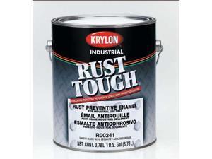 KRYLON R00871 Paint,Acrylic Alkyd Enamel,Dark Mach Gry G4944414