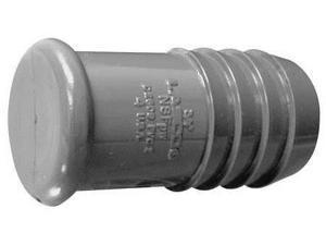 LASCO 1449-012 Straight Plug, Insert, 1-1/4 In, PVC