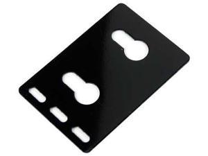 RITTAL 9971067 Dual PDU Button Mount Bracket, Pk 2