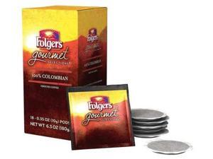 FOLGERS FOLGERS Colombian Coffee Pods, Regular, 10g, PK108
