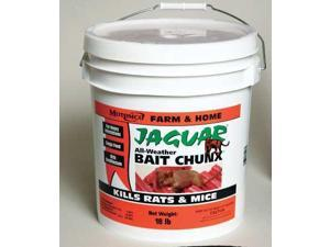 Jaguar 31418 Rodenticide,Green Chunks,18 Lb. Pail G5086024