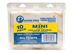 PREMIER 84072 Mini Paint Roller Cover, 4 In, PK 10