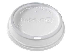 Sipper Hot Dome Lid, White ,International Paper, LHDD-16