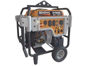 GENERAC 5932 Portable Generator,12500W,530cc G1021282